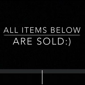Accessories - ALL ITEMS BELOW ARE SOLD